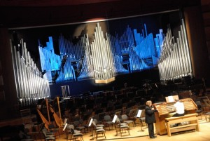 orgue rénové, auditorium