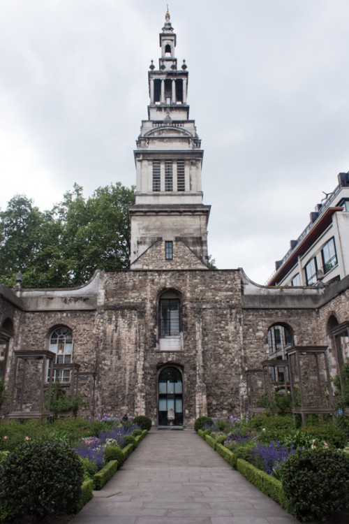ChrisChurch Greyfriars Garden