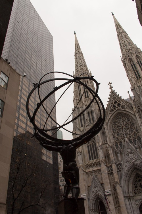 Rockefeller Center, St Patrick's Cathedral