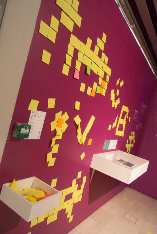 Pixel Art en Post-It