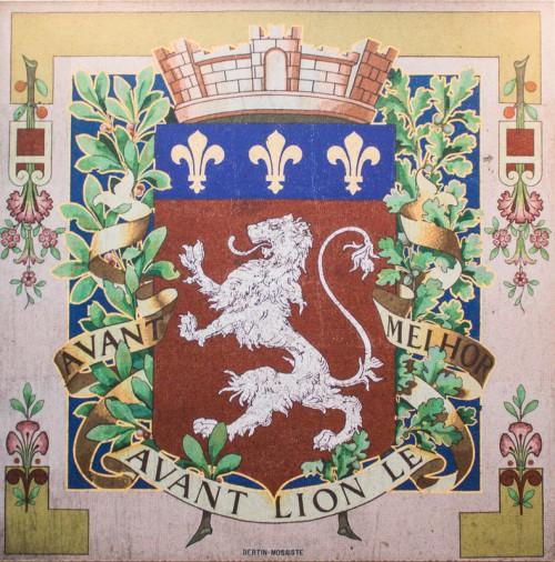 Le blason de Lyon au lycée La Martinière