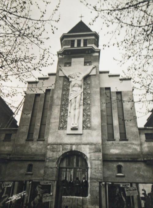 Le Christ de l'église de Gerland