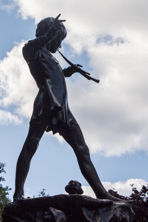 Peter Pan in Kensington Garden