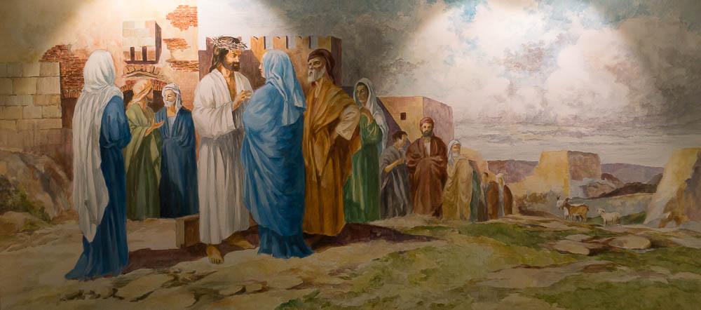 Jesus rencontre sa mere chemin croix