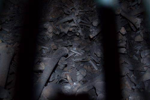 Ossuaire de la crypte