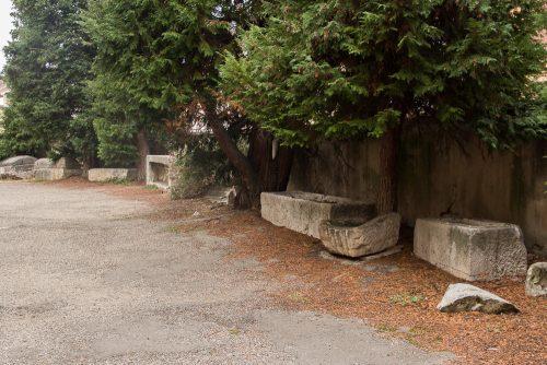 Sarcophages paleochrétiens