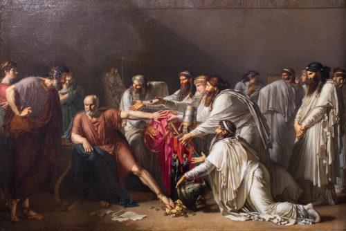 Anne-Louis Girodet Trioson, Hippocrate refusant...