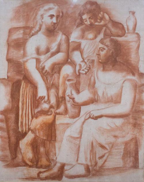 Picasso, 3 femmes à la fontaine