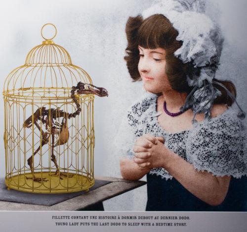 fillette qui conte une histoire à dormir debout au dernier dodo