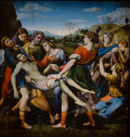 La Mise au tombeau du Christ