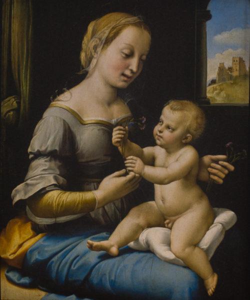 La Vierge aux oeillets
