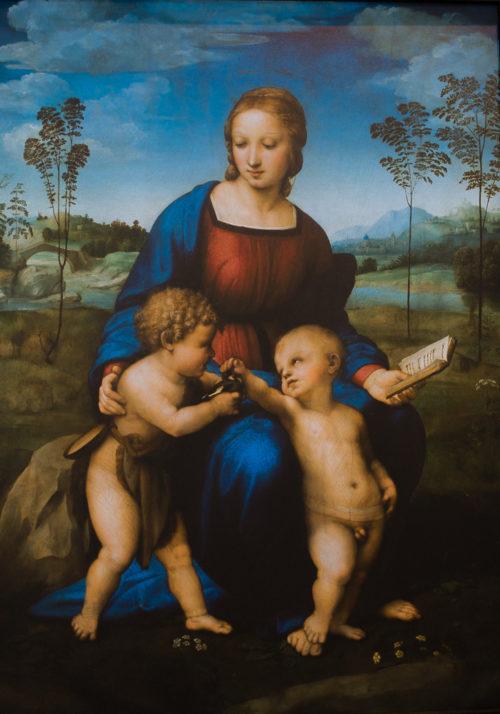 La Vierge au chardonneret