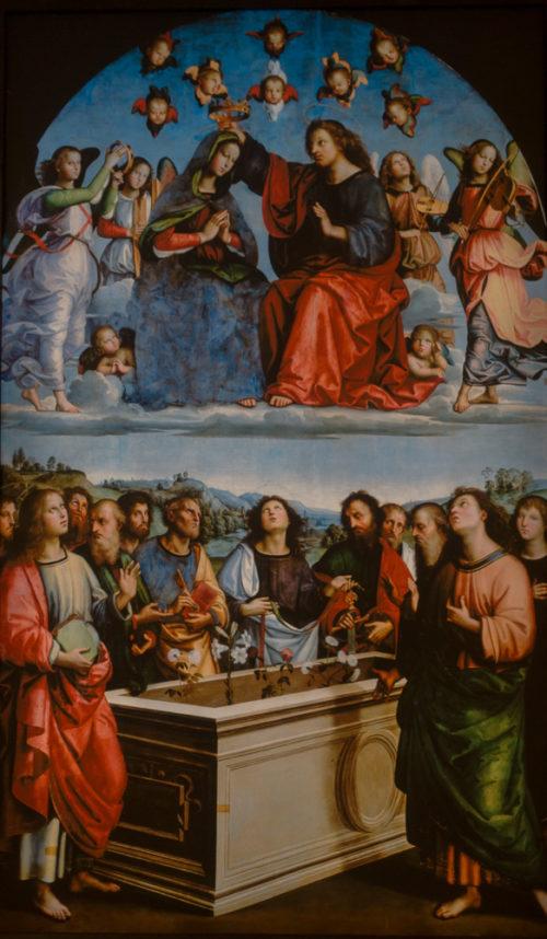 Le Couronnement de la Vierge